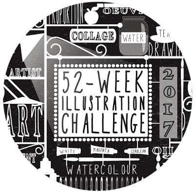 52-week-illustration-challenge-logo-2017-black